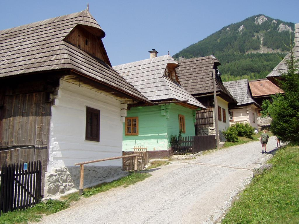 Traditional village of Vlkolinec